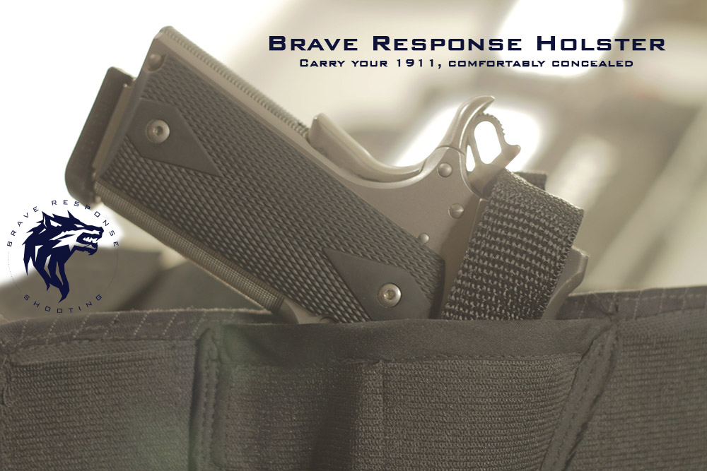 The Original Brave Response Holster Brave Response Shooting